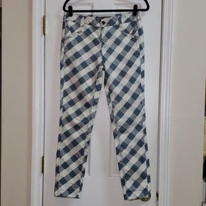 NWOT♡ DAUGHTERS OF LIBERATION PLAID SKINNY